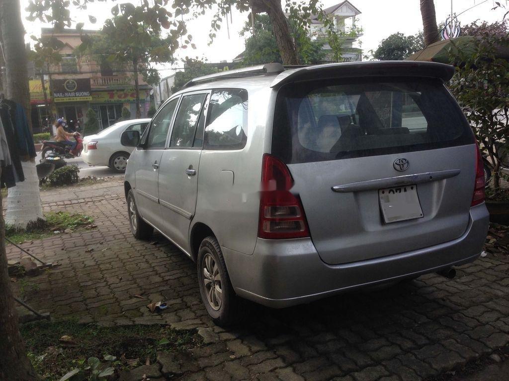Bán Toyota Innova đời 2007, màu bạc, nhập khẩu  (3)
