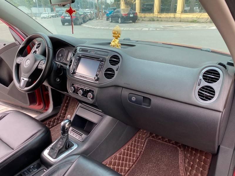 Bán xe Volkswagen Tiguan đời 2011, màu đỏ, nhập khẩu (12)