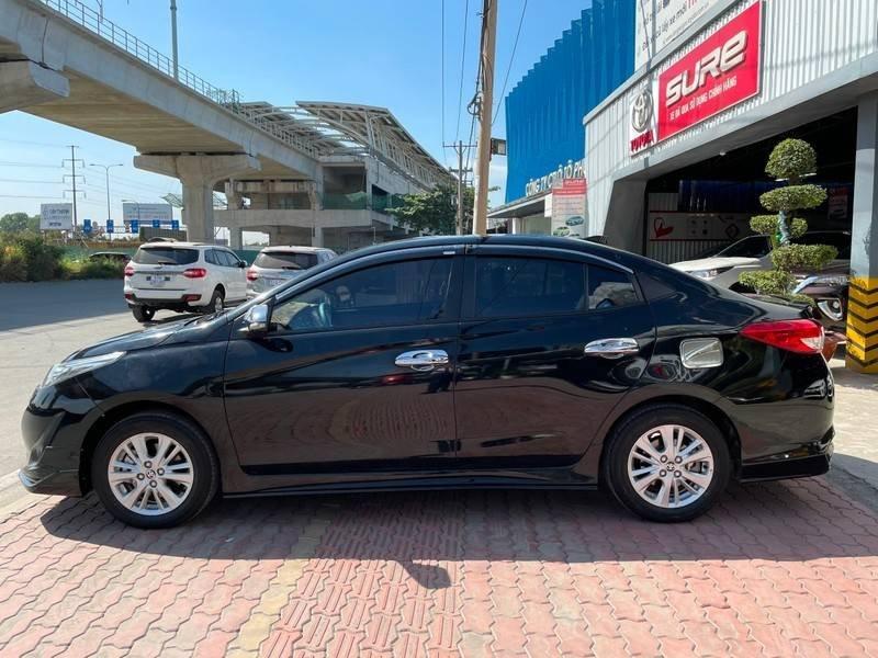 Cần bán gấp Toyota Vios đời 2019, màu đen chính chủ, giá 550tr (5)