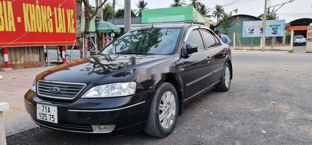 Cần bán xe Ford Mondeo đời 2005, màu đen chính chủ, 145 triệu (1)