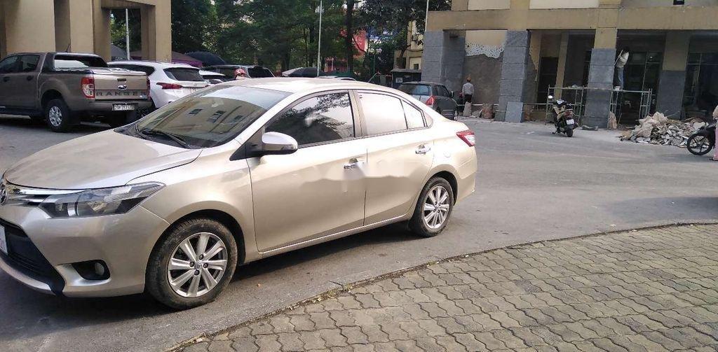 Bán Toyota Vios đời 2015, màu vàng chính chủ, giá chỉ 318 triệu (4)