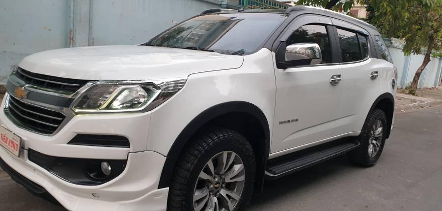 Bán ô tô Chevrolet Trailblazer 2.5 AT năm 2018, màu trắng, nhập khẩu (32)
