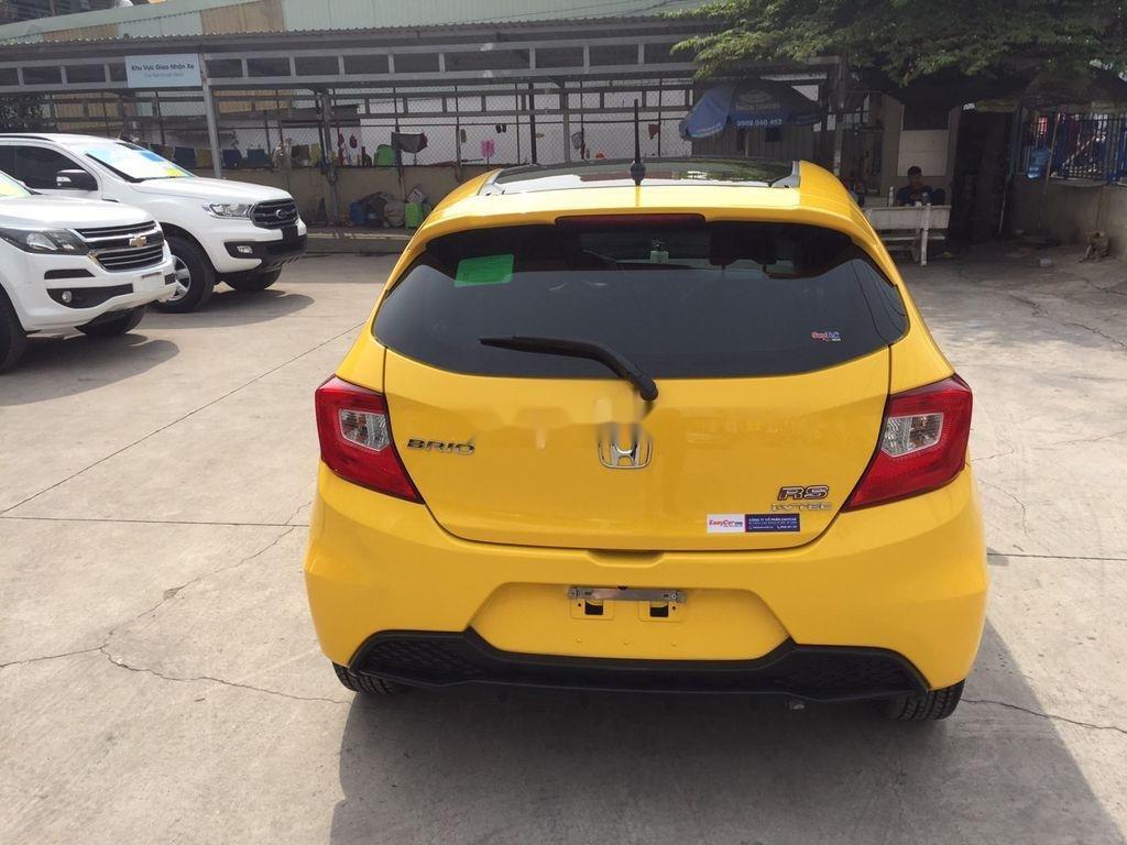 Bán Honda Brio đời 2020, màu vàng, nhập khẩu, 455 triệu (3)
