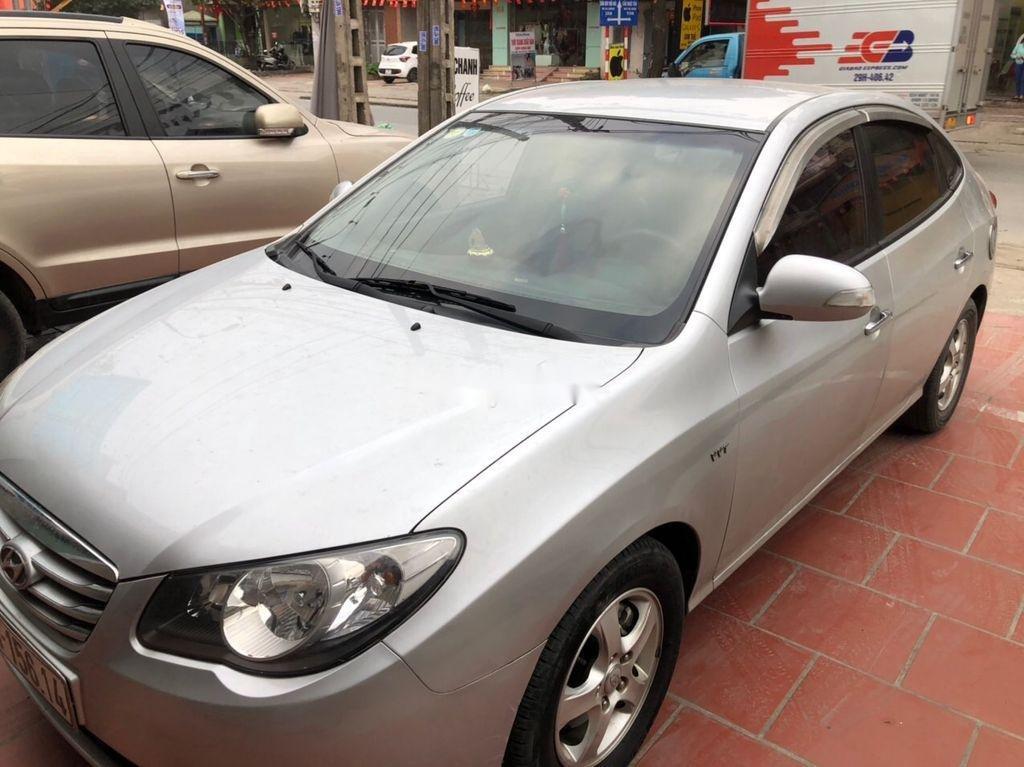 Bán Hyundai Elantra đời 2011, màu bạc, nhập khẩu  (1)