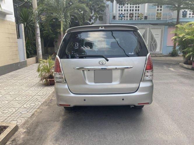 Cần bán gấp Toyota Innova G sản xuất 2012, màu bạc chính chủ, 343tr (5)