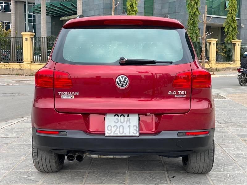 Bán xe Volkswagen Tiguan đời 2011, màu đỏ, nhập khẩu (4)