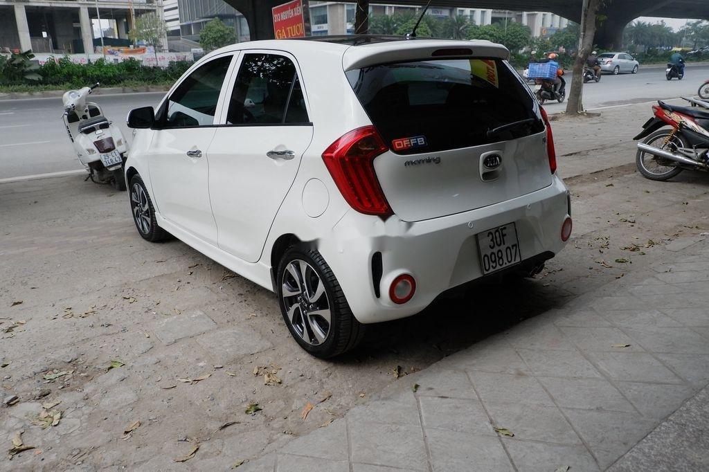 Cần bán xe Kia Morning Si AT đời 2018, màu trắng  (4)