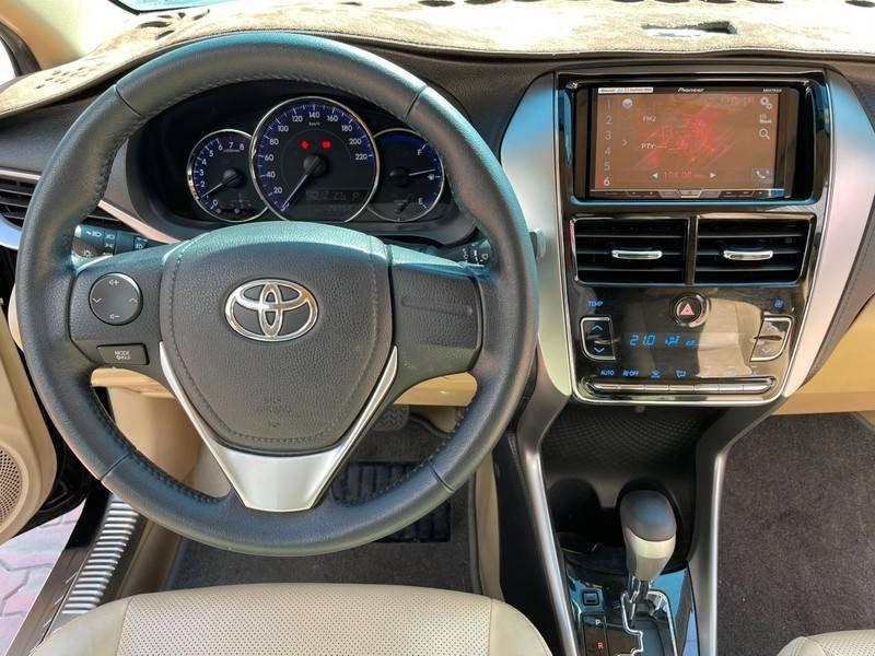 Cần bán gấp Toyota Vios đời 2019, màu đen chính chủ, giá 550tr (12)