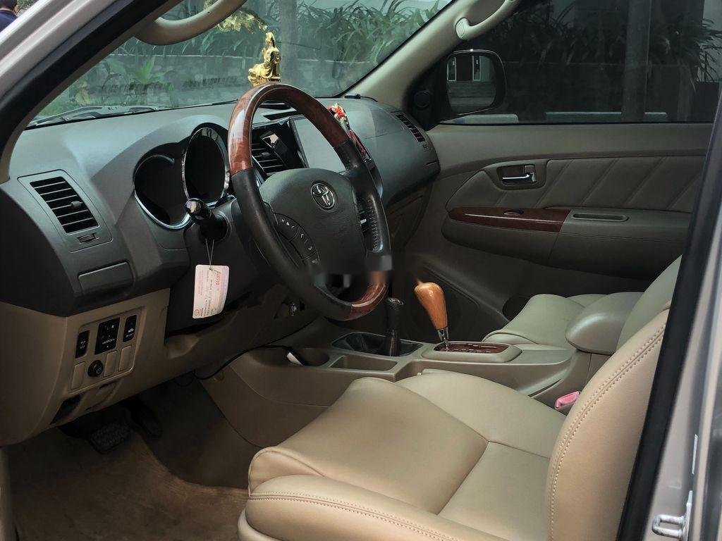 Bán ô tô Toyota Fortuner đời 2009, màu bạc (7)