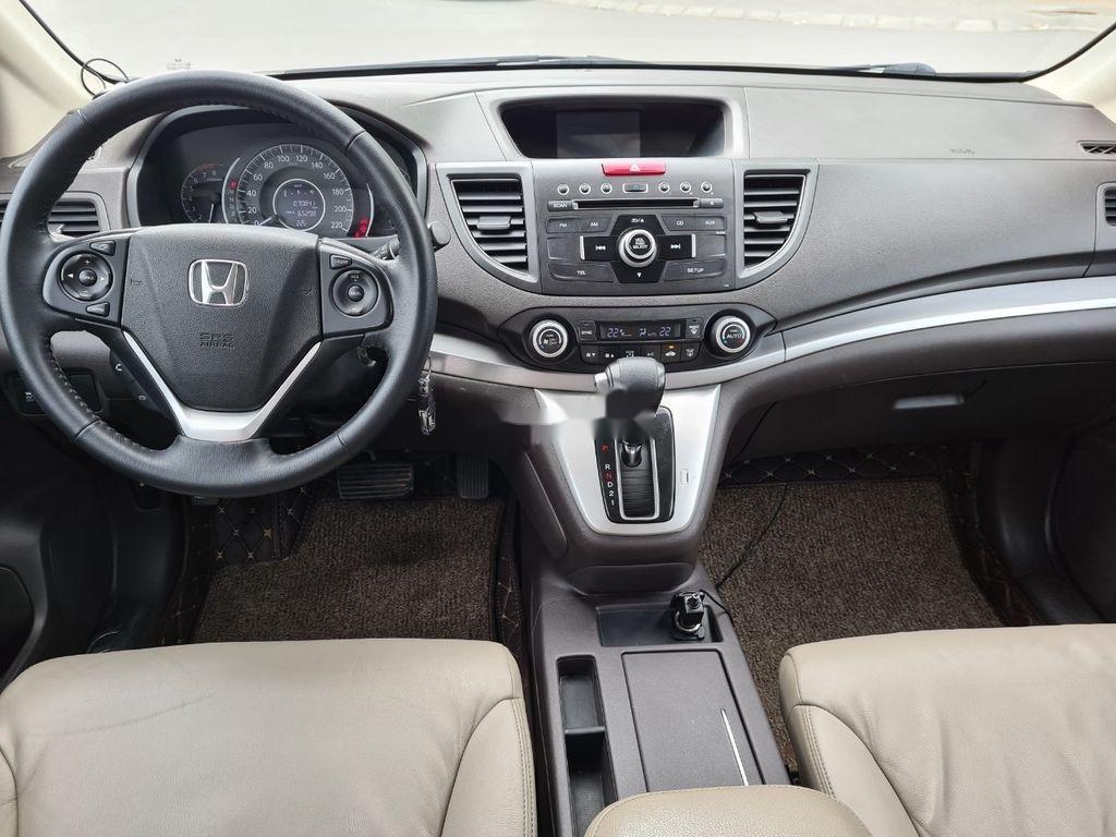 Bán xe Honda CR V đời 2014, màu trắng (9)