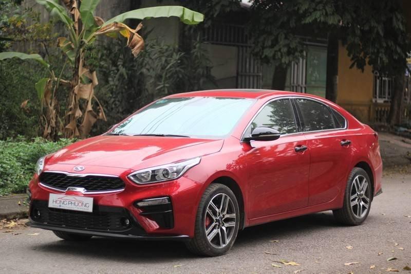 Cần bán Kia Cerato năm 2020, màu đỏ, nhập khẩu  (4)