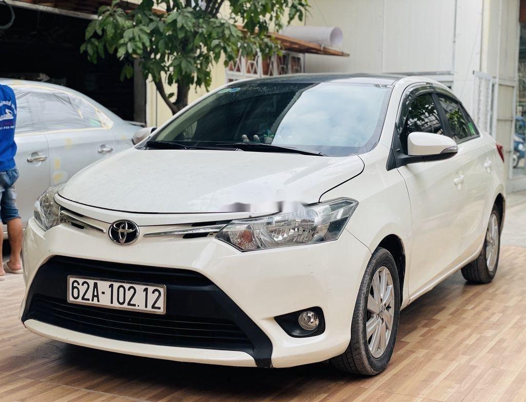 Cần bán xe Toyota Vios đời 2018, màu trắng chính chủ (3)