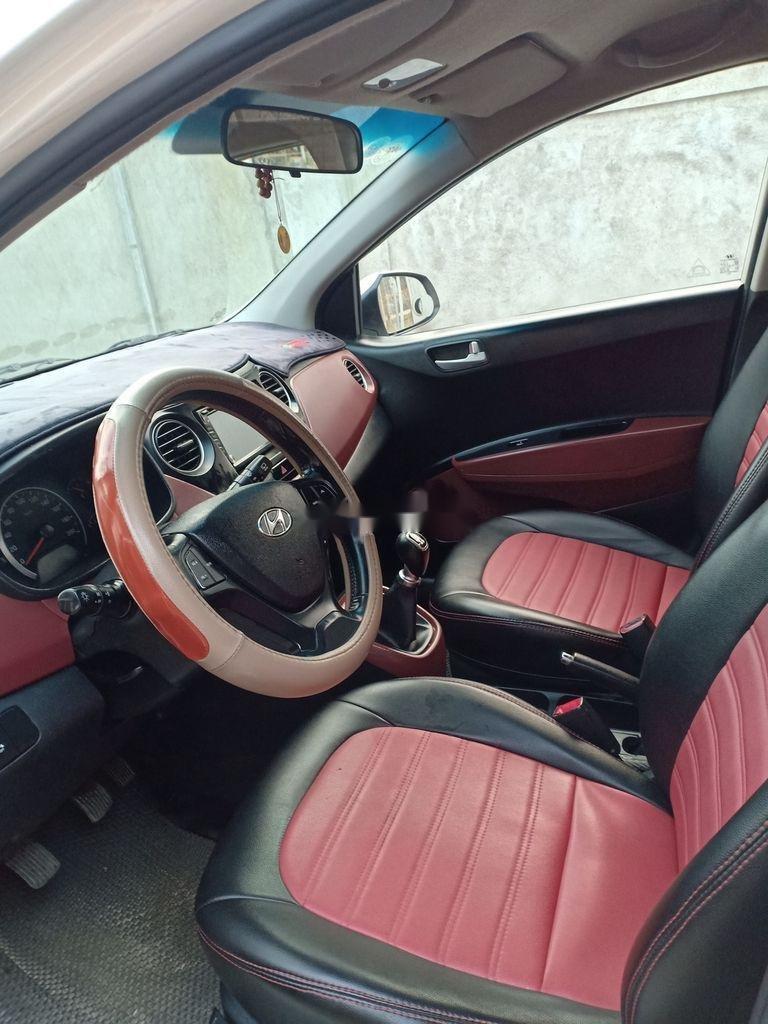 Cần bán xe Hyundai Grand i10 đời 2016, màu trắng, xe nhập (7)