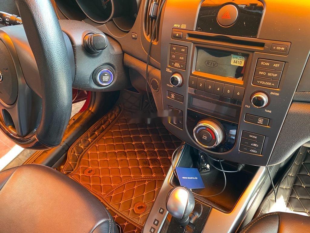 Cần bán lại xe Kia Cerato năm sản xuất 2009, màu đỏ, nhập khẩu (10)
