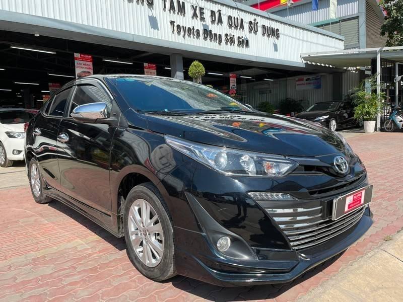 Cần bán gấp Toyota Vios đời 2019, màu đen chính chủ, giá 550tr (2)