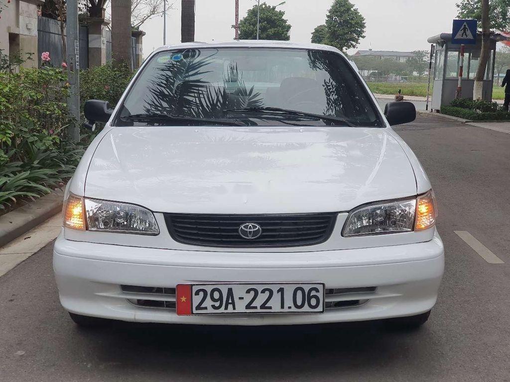 Cần bán xe Toyota Corolla 2005, màu trắng (3)