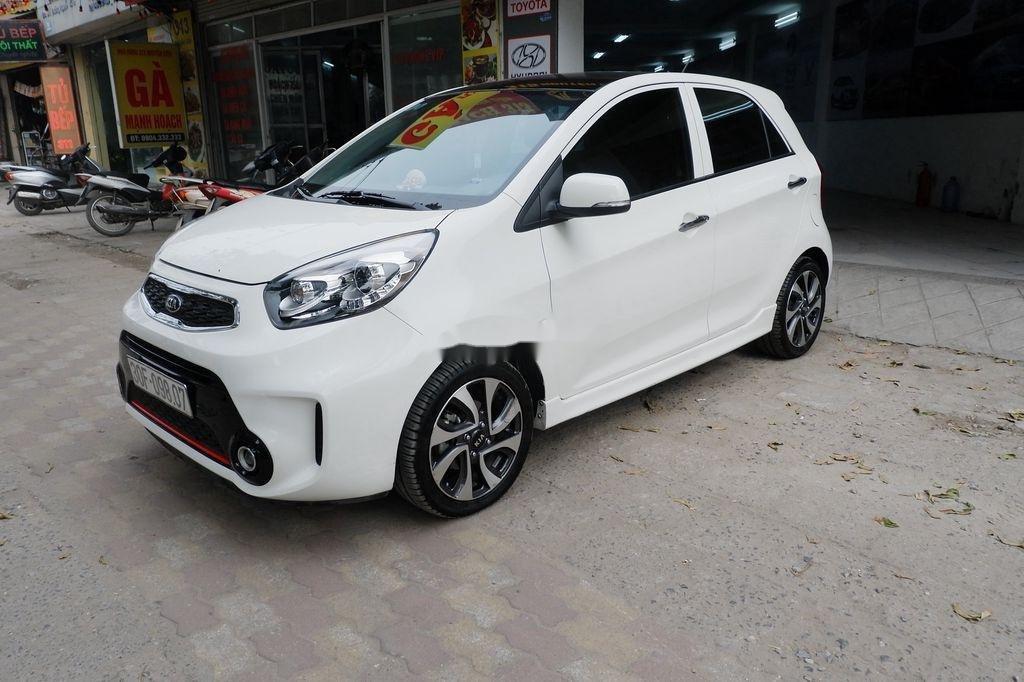 Cần bán xe Kia Morning Si AT đời 2018, màu trắng  (1)