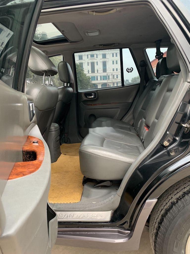 Cần bán xe Hyundai Santa Fe đời 2004, màu xám, nhập khẩu nguyên chiếc (7)