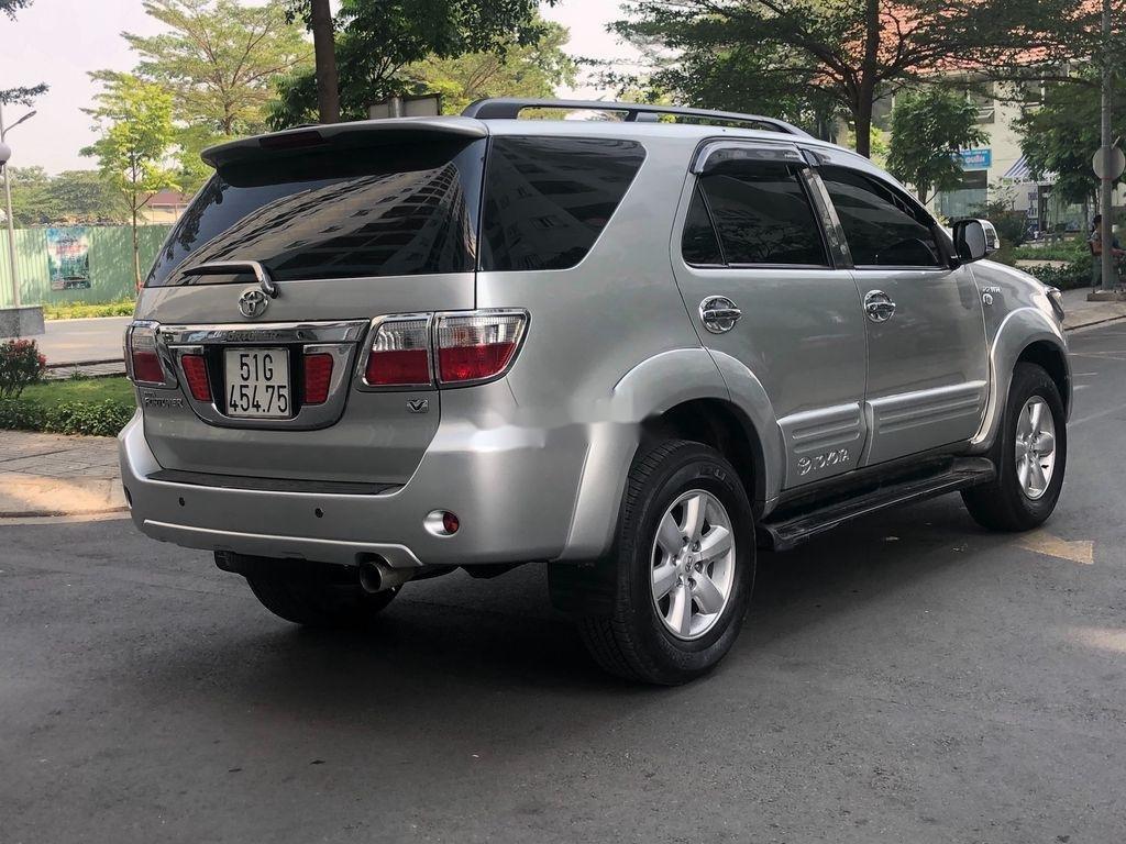 Bán ô tô Toyota Fortuner đời 2009, màu bạc (5)