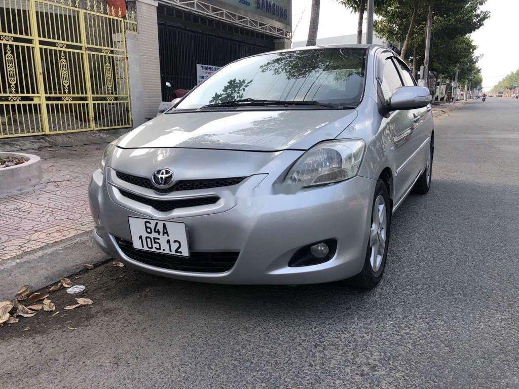 Cần bán gấp Toyota Vios đời 2008, màu bạc, nhập khẩu  (2)