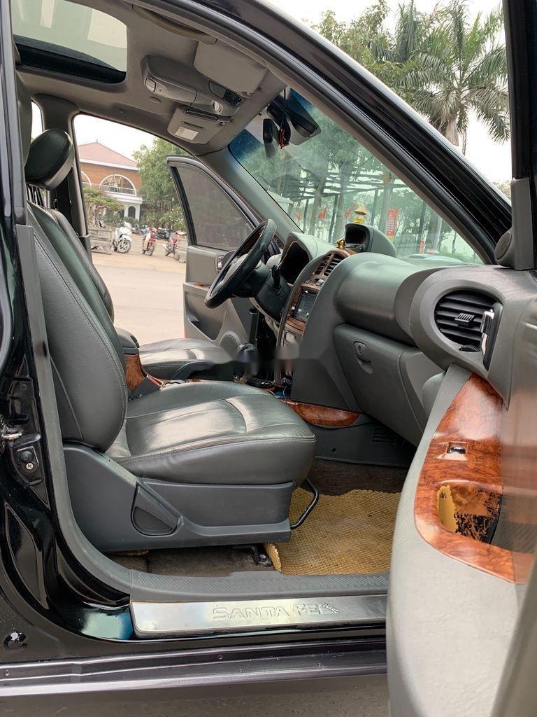 Cần bán xe Hyundai Santa Fe đời 2004, màu xám, nhập khẩu nguyên chiếc (6)
