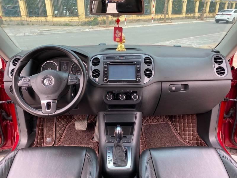 Bán xe Volkswagen Tiguan đời 2011, màu đỏ, nhập khẩu (7)