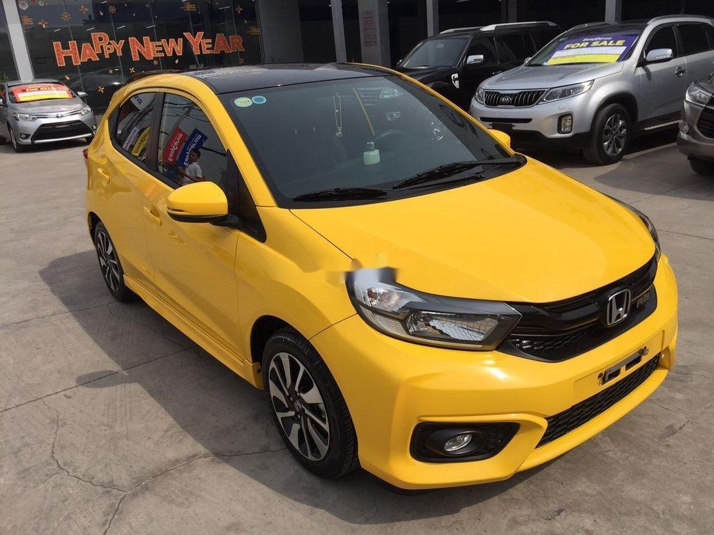 Bán Honda Brio đời 2020, màu vàng, nhập khẩu, 455 triệu (1)