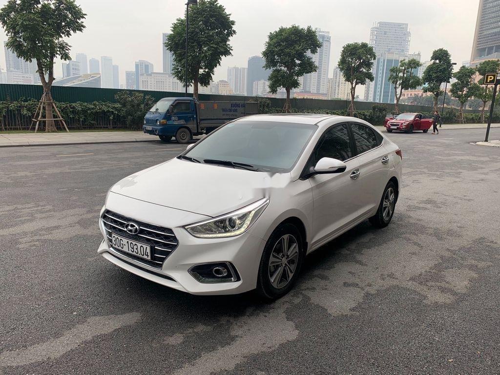 Bán Hyundai Accent ATH 2020, màu trắng, giá 555tr (1)