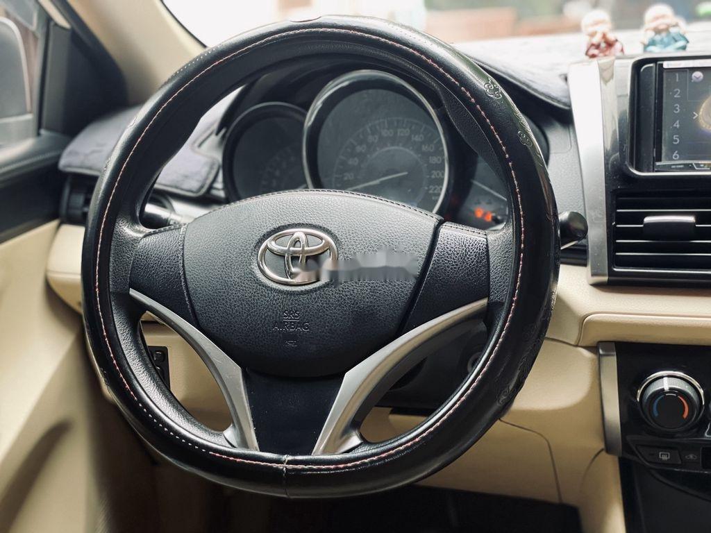 Cần bán xe Toyota Vios đời 2018, màu trắng chính chủ (8)