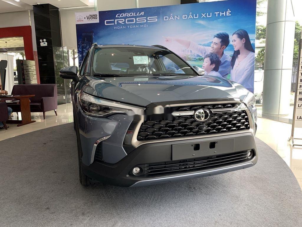 Cần bán Toyota Corolla Cross đời 2021, màu xám, xe nhập, giá tốt (1)