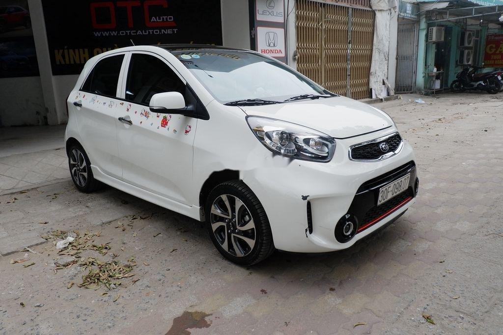 Cần bán xe Kia Morning Si AT đời 2018, màu trắng  (7)