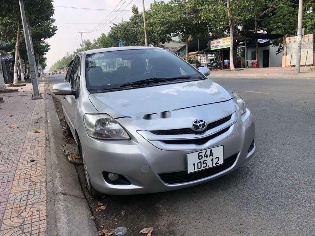 Cần bán gấp Toyota Vios đời 2008, màu bạc, nhập khẩu  (1)