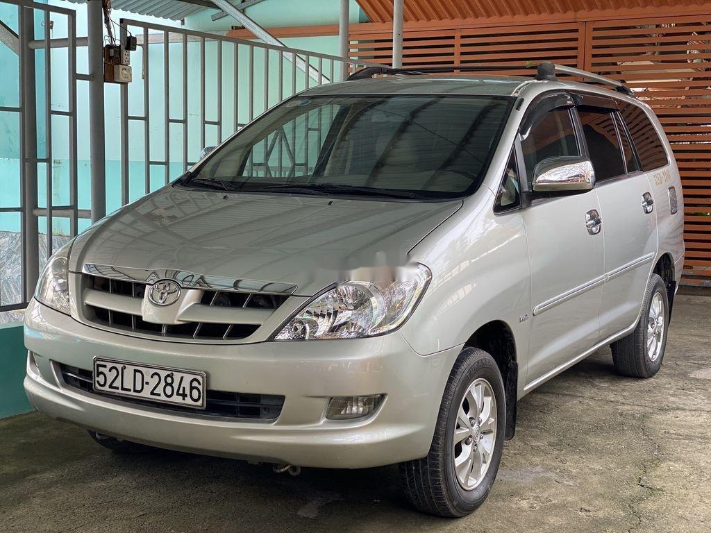 Cần bán Toyota Innova 2008, màu bạc chính chủ (2)