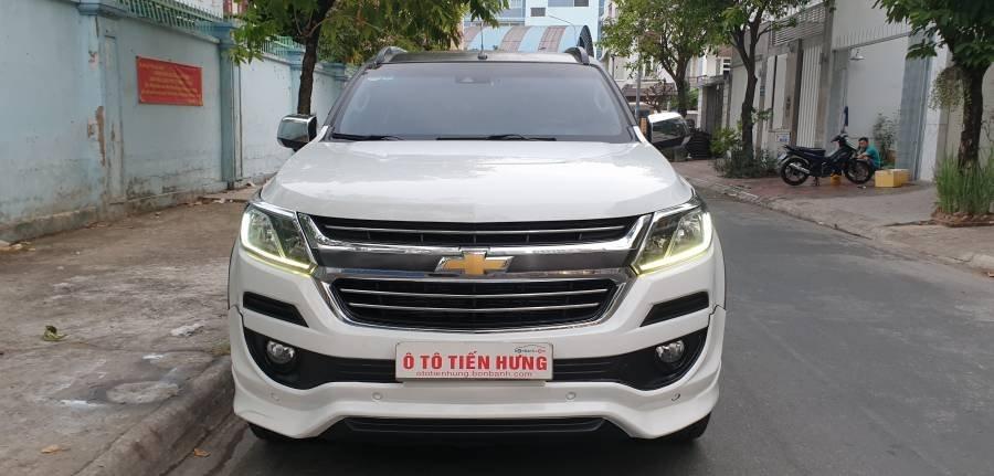 Bán ô tô Chevrolet Trailblazer 2.5 AT năm 2018, màu trắng, nhập khẩu (30)