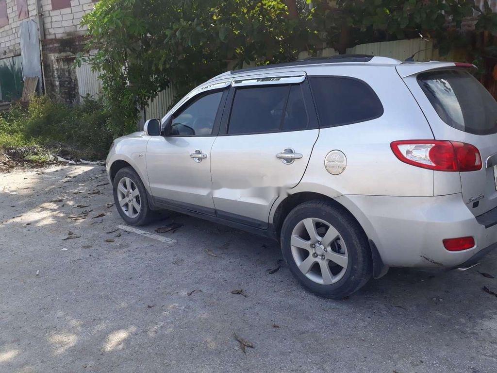 Bán Hyundai Santa Fe đời 2009, màu bạc, nhập khẩu  (4)