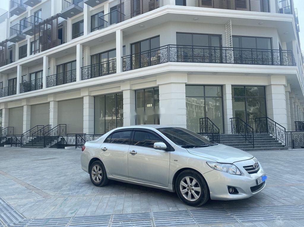 Bán Toyota Corolla Altis đời 2010, màu bạc, xe nhập  (4)