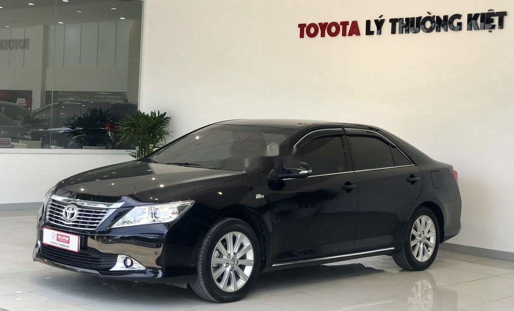 Cần bán Toyota Camry 2.5G 2012, màu đen chính chủ, 690tr (7)