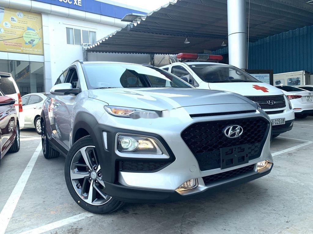 Bán ô tô Hyundai Kona đời 2021, màu bạc (1)