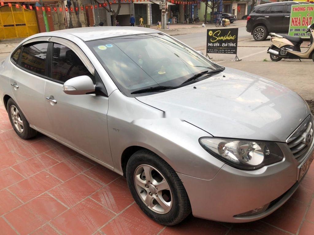 Bán Hyundai Elantra đời 2011, màu bạc, nhập khẩu  (2)