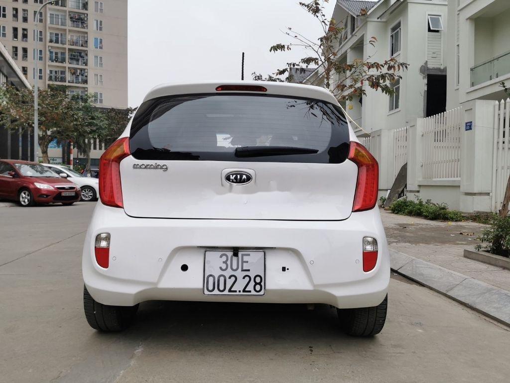 Cần bán xe Kia Morning đời 2011, màu trắng, xe nhập  (2)