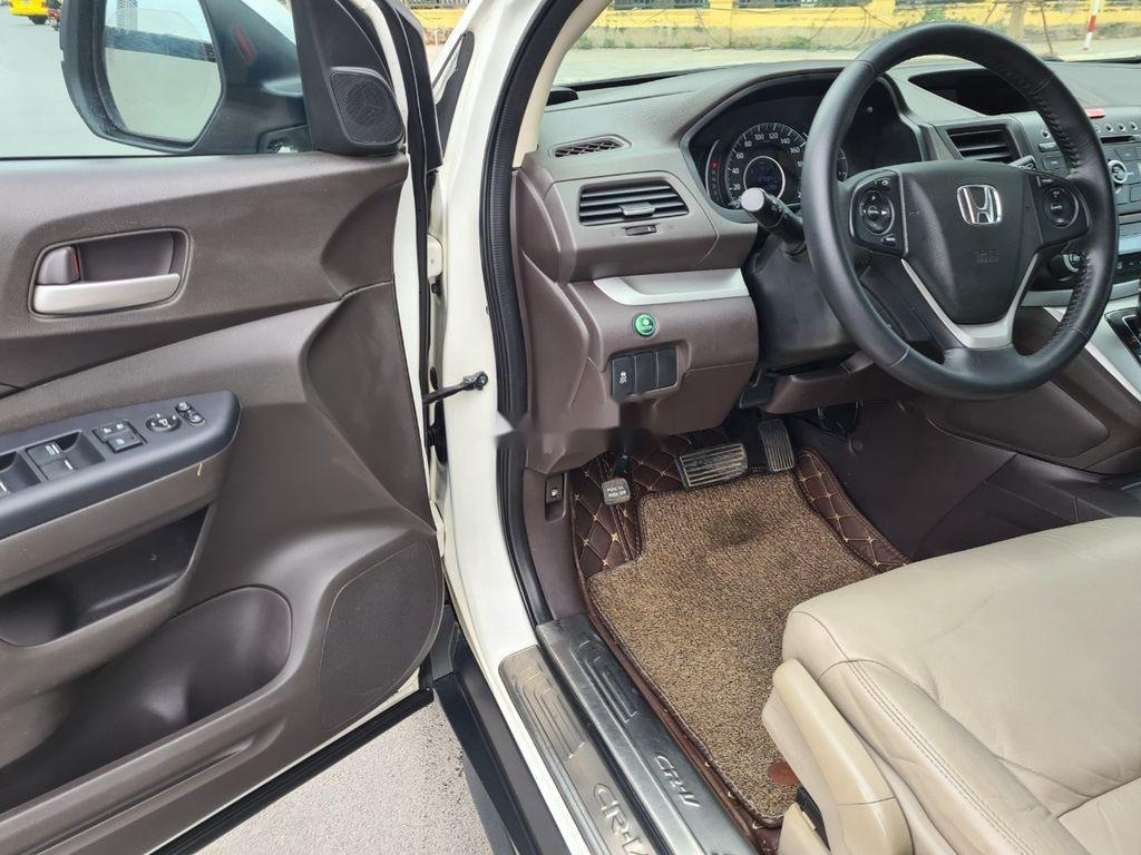 Bán xe Honda CR V đời 2014, màu trắng (10)