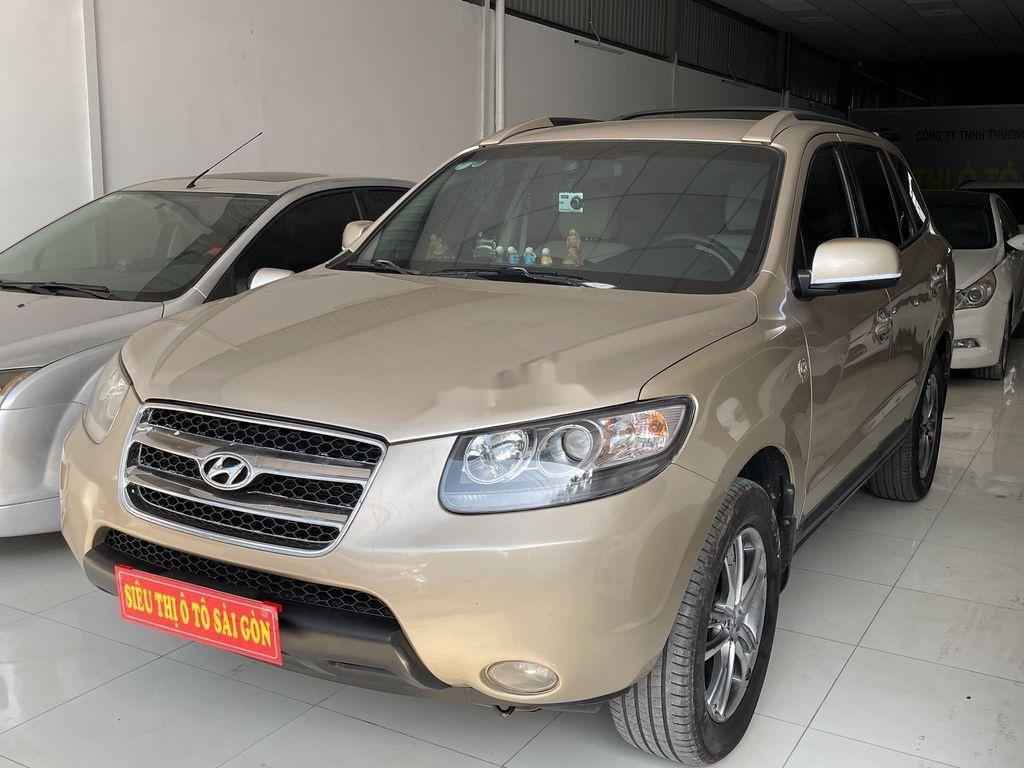 Cần bán Hyundai Santa Fe sản xuất năm 2009 còn mới, 425tr (1)