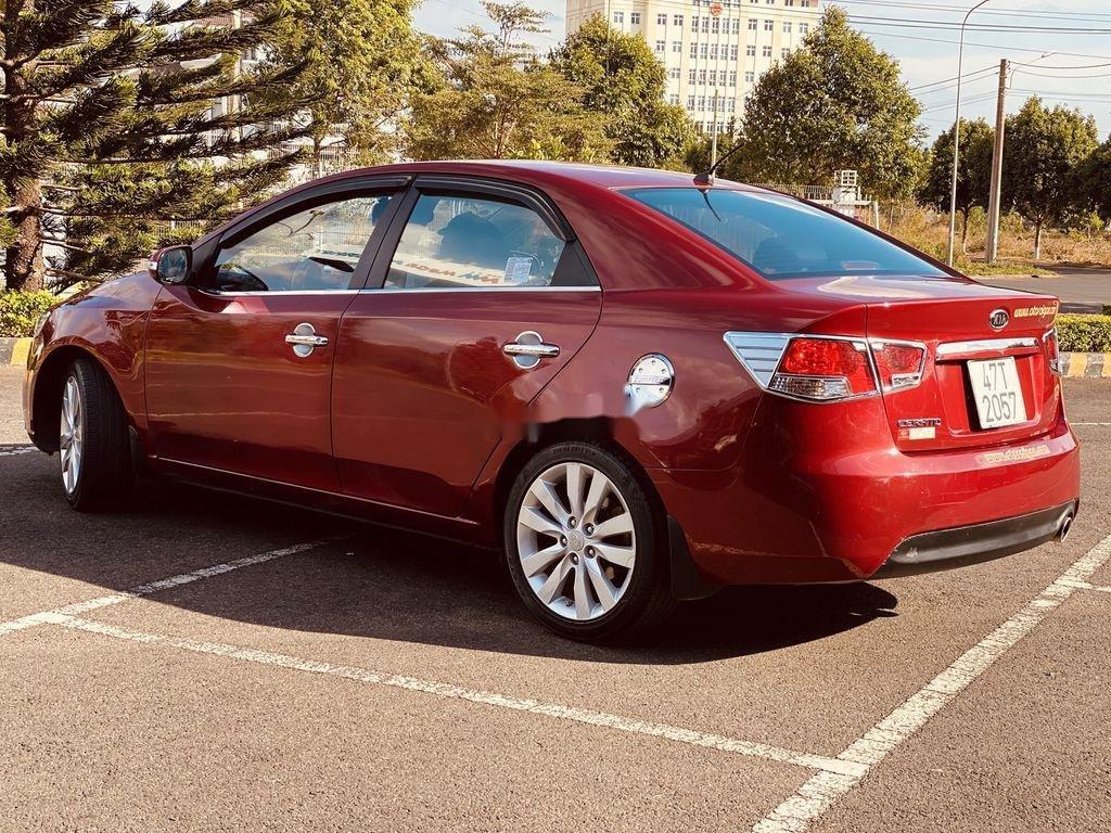 Cần bán lại xe Kia Cerato năm sản xuất 2009, màu đỏ, nhập khẩu (4)