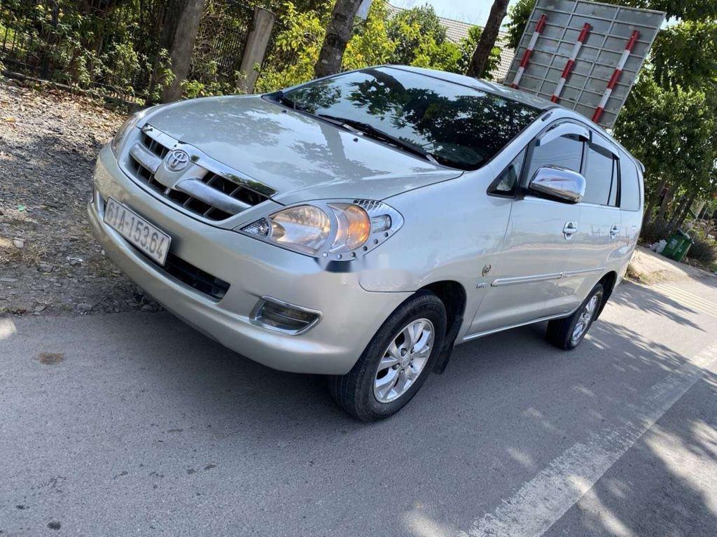 Bán Toyota Innova năm sản xuất 2008, màu bạc  (1)