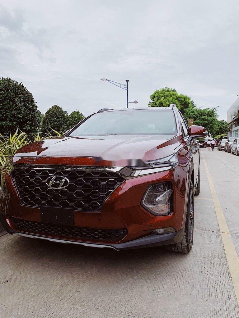 Cần bán xe Hyundai Santa Fe đời 2021, màu đỏ (5)