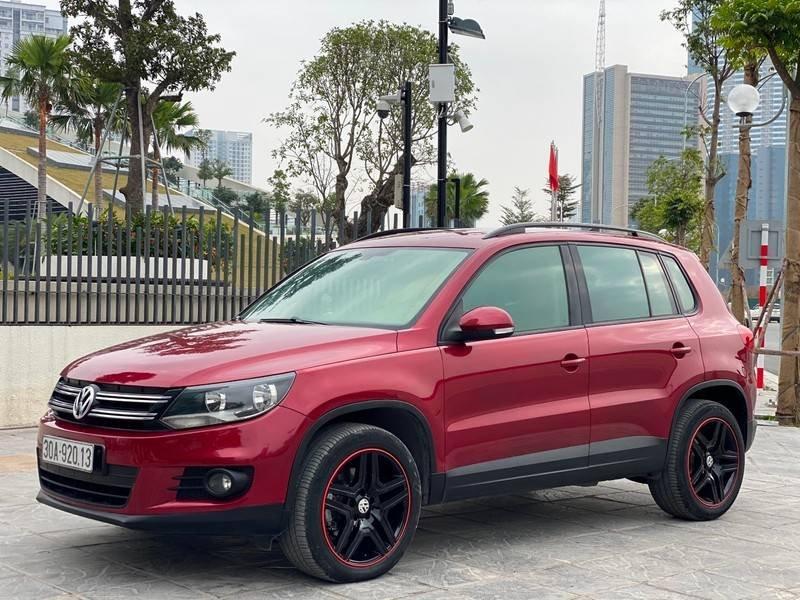 Bán xe Volkswagen Tiguan đời 2011, màu đỏ, nhập khẩu (1)
