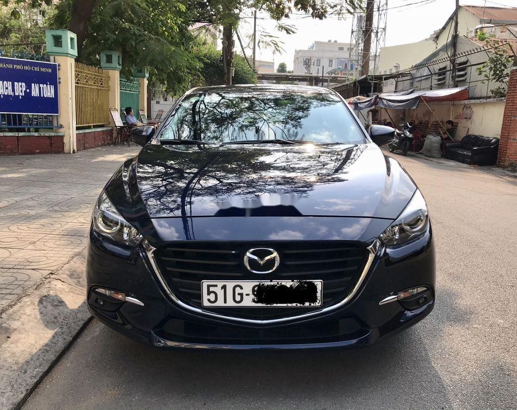 Bán Mazda 3 sản xuất 2019, màu xanh lam chính chủ, giá tốt (1)