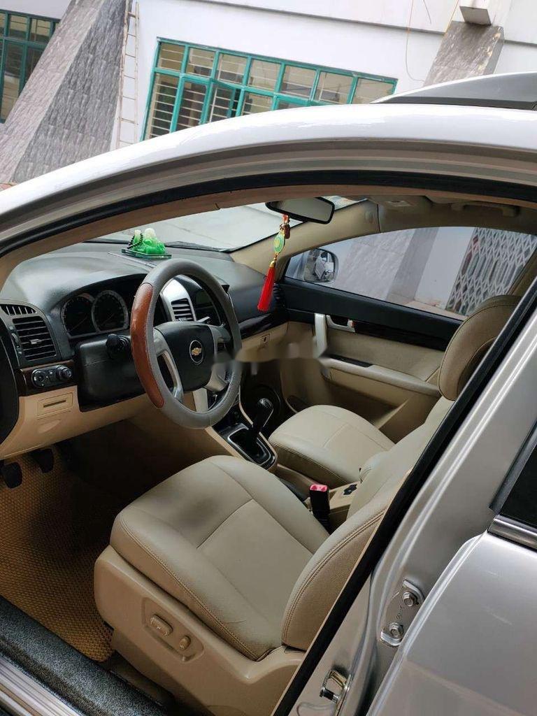 Bán Chevrolet Captiva đời 2008, màu bạc chính chủ (6)