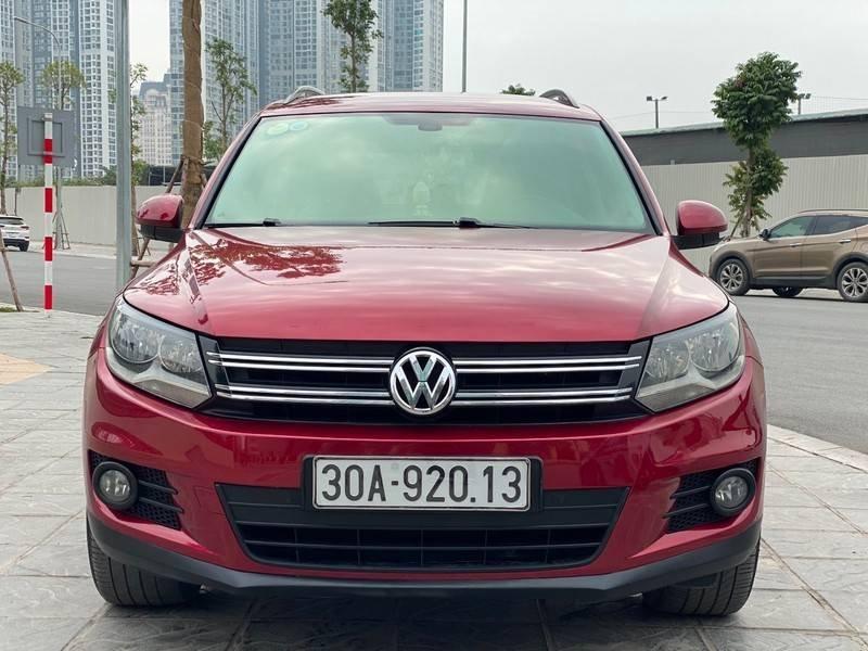 Bán xe Volkswagen Tiguan đời 2011, màu đỏ, nhập khẩu (3)