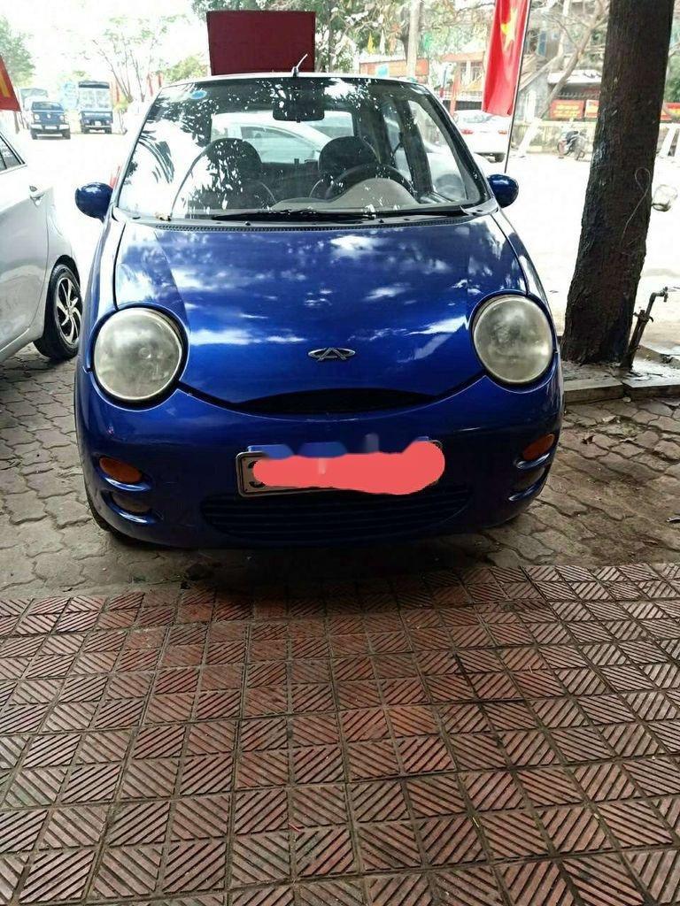 Bán xe Chery QQ3 2009, màu xanh lam  (1)